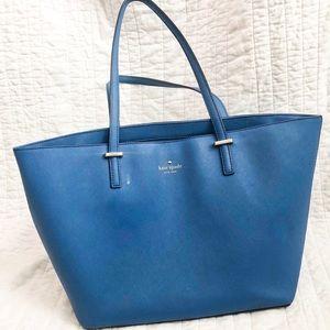 Kate Spade blue over shoulder handbag